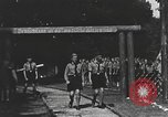 Image of Hitler Youth camp Offenburg Germany, 1937, second 28 stock footage video 65675061201