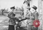 Image of German soldiers receive Iron Cross Italy, 1944, second 14 stock footage video 65675061209