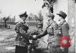 Image of German soldiers receive Iron Cross Italy, 1944, second 15 stock footage video 65675061209