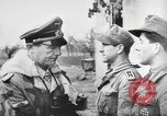 Image of German soldiers receive Iron Cross Italy, 1944, second 20 stock footage video 65675061209
