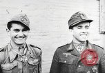 Image of German soldiers receive Iron Cross Italy, 1944, second 25 stock footage video 65675061209