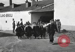 Image of Youth cadets of Royal Hungarian High School marching Freyung Germany, 1945, second 22 stock footage video 65675061210