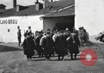 Image of Youth cadets of Royal Hungarian High School marching Freyung Germany, 1945, second 24 stock footage video 65675061210