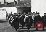 Image of Youth cadets of Royal Hungarian High School marching Freyung Germany, 1945, second 26 stock footage video 65675061210