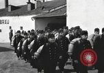 Image of Youth cadets of Royal Hungarian High School marching Freyung Germany, 1945, second 27 stock footage video 65675061210