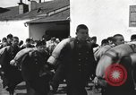Image of Youth cadets of Royal Hungarian High School marching Freyung Germany, 1945, second 34 stock footage video 65675061210