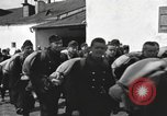 Image of Youth cadets of Royal Hungarian High School marching Freyung Germany, 1945, second 36 stock footage video 65675061210