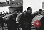 Image of Youth cadets of Royal Hungarian High School marching Freyung Germany, 1945, second 37 stock footage video 65675061210