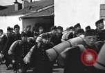 Image of Youth cadets of Royal Hungarian High School marching Freyung Germany, 1945, second 39 stock footage video 65675061210