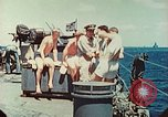 Image of United States Navy Task Force being resupplied Pacific Theater, 1944, second 19 stock footage video 65675061217