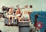 Image of United States Navy Task Force being resupplied Pacific Theater, 1944, second 23 stock footage video 65675061217