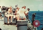 Image of United States Navy Task Force being resupplied Pacific Theater, 1944, second 24 stock footage video 65675061217