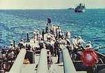Image of United States Navy Task Force being resupplied Pacific Theater, 1944, second 28 stock footage video 65675061217