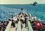 Image of United States Navy Task Force being resupplied Pacific Theater, 1944, second 29 stock footage video 65675061217