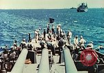 Image of United States Navy Task Force being resupplied Pacific Theater, 1944, second 30 stock footage video 65675061217