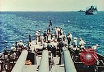 Image of United States Navy Task Force being resupplied Pacific Theater, 1944, second 32 stock footage video 65675061217