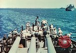 Image of United States Navy Task Force being resupplied Pacific Theater, 1944, second 33 stock footage video 65675061217