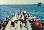 Image of United States Navy Task Force being resupplied Pacific Theater, 1944, second 34 stock footage video 65675061217