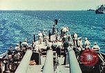 Image of United States Navy Task Force being resupplied Pacific Theater, 1944, second 35 stock footage video 65675061217