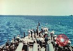 Image of United States Navy Task Force being resupplied Pacific Theater, 1944, second 39 stock footage video 65675061217