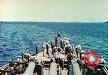 Image of United States Navy Task Force being resupplied Pacific Theater, 1944, second 41 stock footage video 65675061217