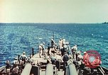 Image of United States Navy Task Force being resupplied Pacific Theater, 1944, second 45 stock footage video 65675061217