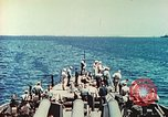 Image of United States Navy Task Force being resupplied Pacific Theater, 1944, second 46 stock footage video 65675061217
