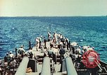 Image of United States Navy Task Force being resupplied Pacific Theater, 1944, second 49 stock footage video 65675061217
