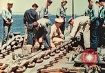 Image of United States Navy Task Force being resupplied Pacific Theater, 1944, second 62 stock footage video 65675061217