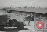 Image of naval supply depot Guam Mariana Islands, 1945, second 51 stock footage video 65675061224