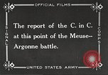 Image of General John Pershing France, 1918, second 4 stock footage video 65675061252
