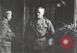 Image of General John Pershing France, 1918, second 12 stock footage video 65675061252
