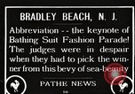 Image of bathing suit fashion parade Asbury Park New Jersey USA, 1922, second 1 stock footage video 65675061268