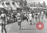 Image of bathing suit fashion parade Asbury Park New Jersey USA, 1922, second 2 stock footage video 65675061268