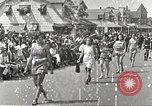 Image of bathing suit fashion parade Asbury Park New Jersey USA, 1922, second 3 stock footage video 65675061268