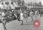 Image of bathing suit fashion parade Asbury Park New Jersey USA, 1922, second 4 stock footage video 65675061268