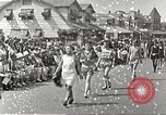 Image of bathing suit fashion parade Asbury Park New Jersey USA, 1922, second 5 stock footage video 65675061268