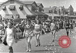 Image of bathing suit fashion parade Asbury Park New Jersey USA, 1922, second 7 stock footage video 65675061268