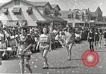 Image of bathing suit fashion parade Asbury Park New Jersey USA, 1922, second 8 stock footage video 65675061268