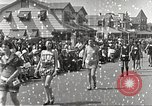 Image of bathing suit fashion parade Asbury Park New Jersey USA, 1922, second 9 stock footage video 65675061268