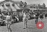 Image of bathing suit fashion parade Asbury Park New Jersey USA, 1922, second 10 stock footage video 65675061268
