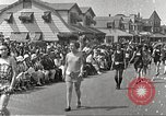 Image of bathing suit fashion parade Asbury Park New Jersey USA, 1922, second 11 stock footage video 65675061268