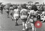 Image of bathing suit fashion parade Asbury Park New Jersey USA, 1922, second 13 stock footage video 65675061268