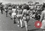Image of bathing suit fashion parade Asbury Park New Jersey USA, 1922, second 14 stock footage video 65675061268