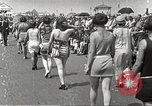 Image of bathing suit fashion parade Asbury Park New Jersey USA, 1922, second 16 stock footage video 65675061268