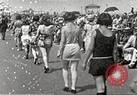 Image of bathing suit fashion parade Asbury Park New Jersey USA, 1922, second 17 stock footage video 65675061268