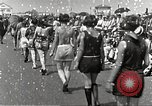 Image of bathing suit fashion parade Asbury Park New Jersey USA, 1922, second 18 stock footage video 65675061268