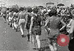 Image of bathing suit fashion parade Asbury Park New Jersey USA, 1922, second 20 stock footage video 65675061268