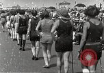 Image of bathing suit fashion parade Asbury Park New Jersey USA, 1922, second 22 stock footage video 65675061268