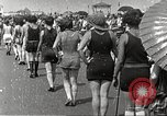 Image of bathing suit fashion parade Asbury Park New Jersey USA, 1922, second 23 stock footage video 65675061268